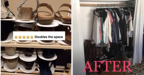25 Organization Products To Help Make More Room In Your Closet