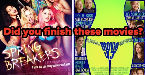People Disliked These Movies So Much, They Left In The Middle Of Them — How Many Of Them Did You Finish Watching?