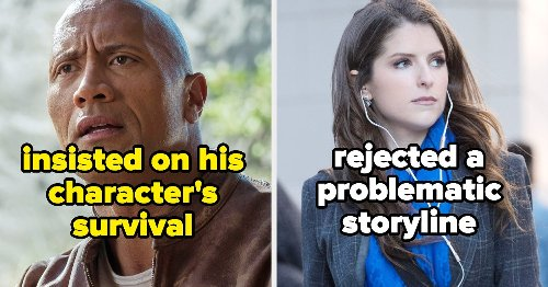14 Actors Who Demanded (And Got) Changes To The Script