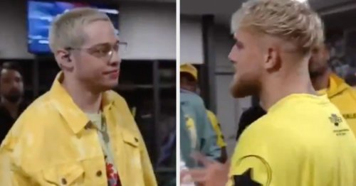 Pete Davidson Called Out Jake Paul's Sexual Assault Allegations To His Face And Then Called Him A P.O.S