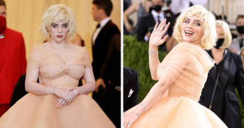 """Billie Eilish Said """"It Was Time For This"""" After Stunning Everybody On The Met Gala Red Carpet By Wearing A Marilyn Monroe–Inspired Ballgown"""