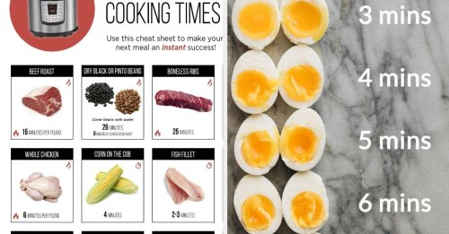 17 Instant Pot Cheat Sheets You Should Definitely Know About