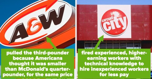 People Are Sharing Famous Companies That Went Bankrupt Over Dumb Decisions, And Now I Finally Know What Happened To Circuit City