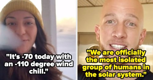 These Viral TikToks Show What It's Like To Live In Antarctica, And Y'all, It's Wild