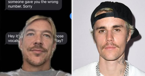 Justin Bieber Pretended Diplo Had The Wrong Number When He Tried To Text Him, And I Am Cackling
