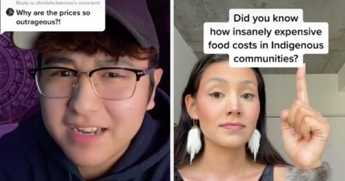 These Indigenous People Have Gone Viral For Exposing The High Costs Of Groceries On Native Reservations
