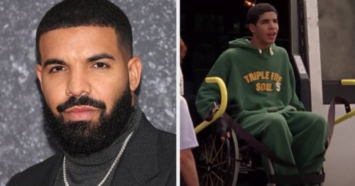 """Drake Threatened To Quit And Take Legal Action Against """"Degrassi"""" Unless His Character Was """"Taken Out Of His Wheelchair"""" Because He Worried It Made Him """"Look Soft"""""""