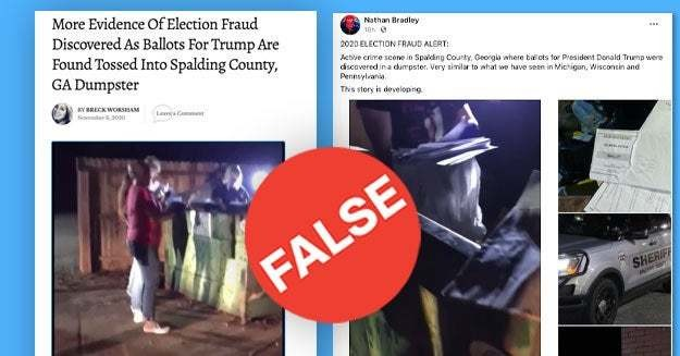 Here's A Running List Of False And Misleading Information About The Election