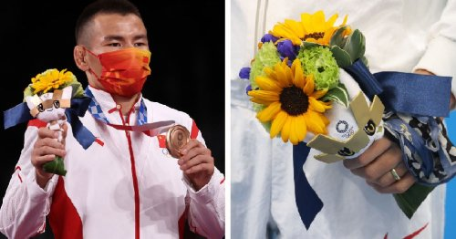 I Just Realised That The Flower Bouquets Given Out At The Tokyo Olympics Have A Special Meaning And Now I'm Emotional