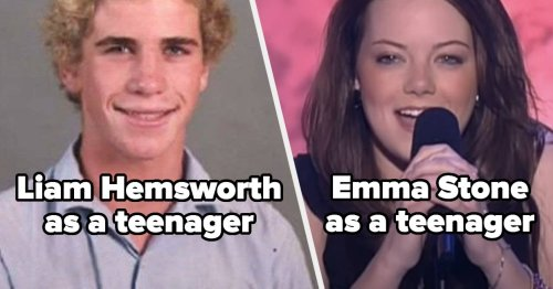 24 Celebs Pretending To Be Teenagers Vs. What They Actually Looked Like As Teenagers