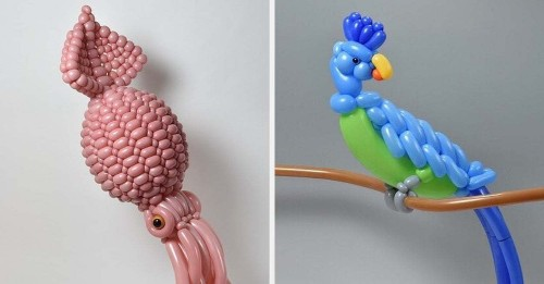 This Artist Creates Insanely Intricate Balloon Sculptures And I Can't Stop Staring