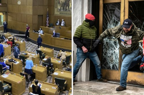 A Republican Lawmaker Was Expelled From Oregon's Legislature For Helping Armed Extremists Breach The State Capitol