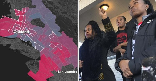 If You Live In New York, Atlanta, Oakland, Baltimore Or DC, You Need To See These Maps About Gentrification