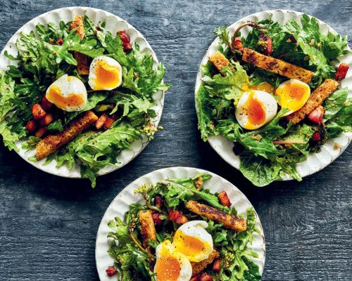 You Know What You Need for Lunch? A Salad of Bacon and Eggs
