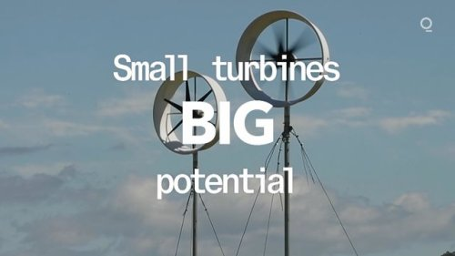 Small Wind Turbines With Big Potential