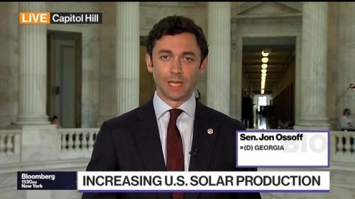 Sen. Ossoff Says U.S. Must Cut Dependence on Chinese Solar Products