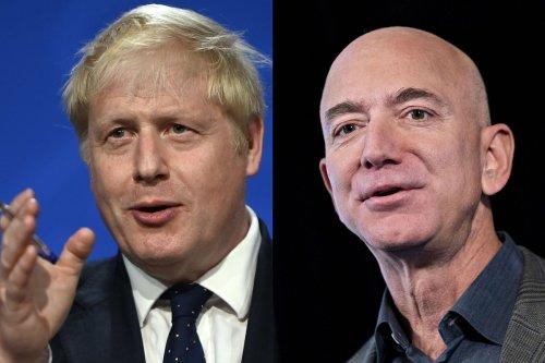 Boris Johnson Says He Told Jeff Bezos Amazon Must Pay Its Fair Share of Taxes
