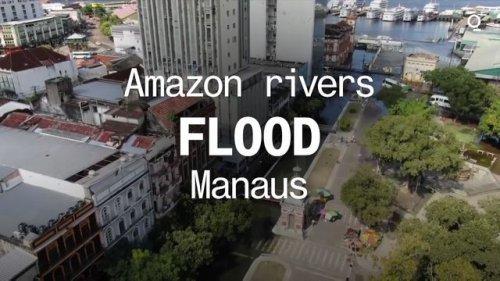 Amazon Rivers Flood Manaus