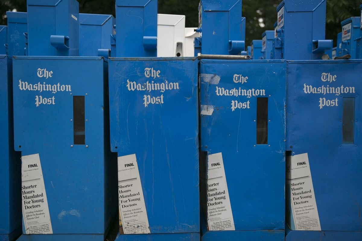 Washington Post to Require Staff to Show Proof of Vaccination