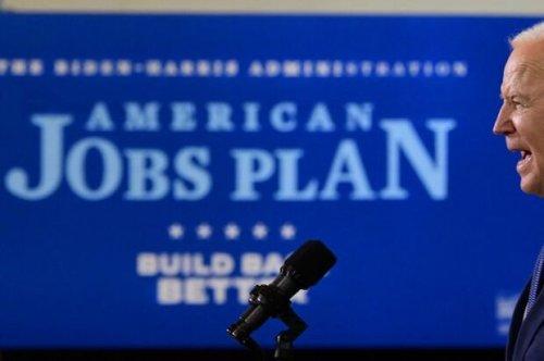 Biden Targets $100 Billion in Plan to Aid Downturn-Hit Workers