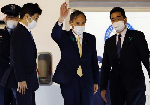 It's All About China as Biden, Suga Meet Amid Taiwan Tension