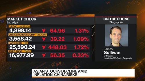 JPMorgan Is 'Very Positive' on Emerging Markets, Sullivan Says