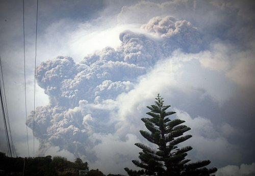 Caribbean Volcano Eruptions Send Sulfur Gases as Far as India