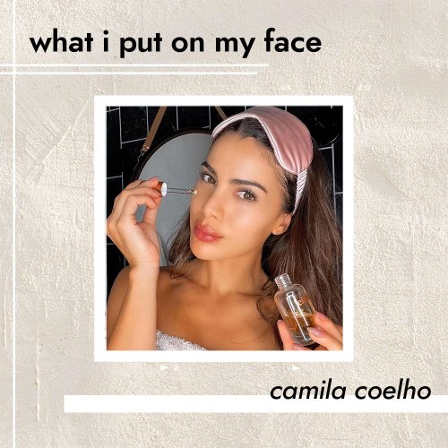 Camila Coelho Uses This Best-Selling Face Oil Every Morning to Give Her Skin Bounce