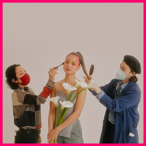 Get to Know Jamie's Glam Team: Hairstylist Kiyonori Sudo and MUA Ayami Nishimura