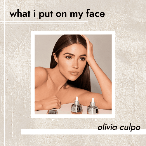 Olivia Culpo Skips Cleanser and Retinol—But Swears By This All-in-One Moisturizer