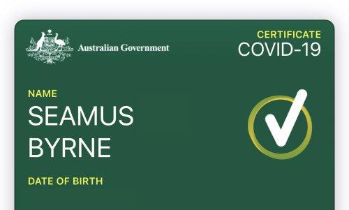 Australia's COVID-19 vaccine certificate now load into digital wallets