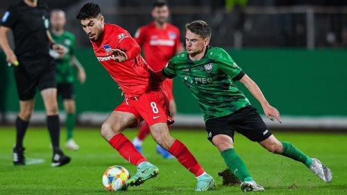 3:1 in Münster! Schwache Hertha zittert sich ins Achtelfinale