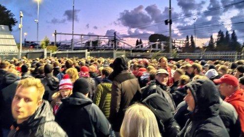 Union-Fans erleben Chaos in Rotterdam – Vorwürfe gegen Polizei