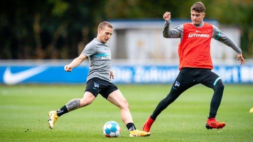 Gechter zurück beim Hertha-Training und Dardai-Lob für Darida