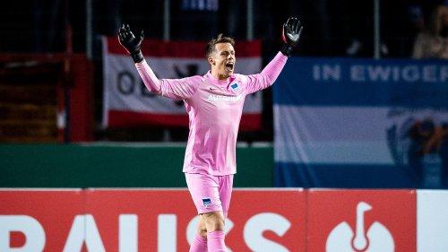 Neues Sieg-Ritual bei Hertha, aber Schwolow sauer nach Pokalsieg