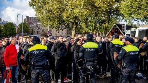Polizei: Union-Fans griffen Rotterdamer Beamte an
