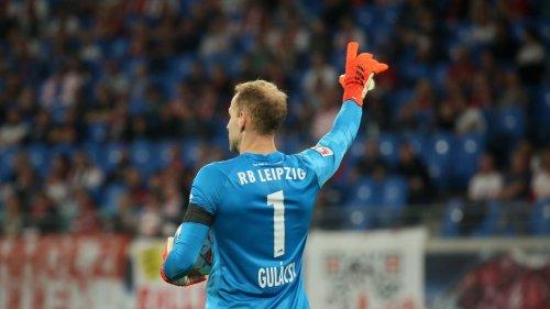 RB Leipzig nicht mit Gulacsi im Tor beim Außenseiter Babelsberg