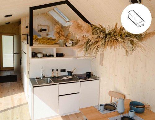 Cabin One Minimal Haus - Mit Liebe zum Detail entworfen
