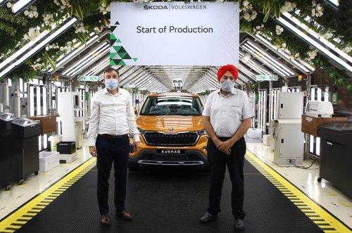 All New Skoda Kushaq production begins ahead of launch