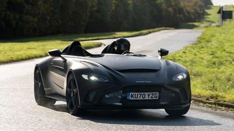 Aston Martin V12 Speedster dawns DBR1 specs