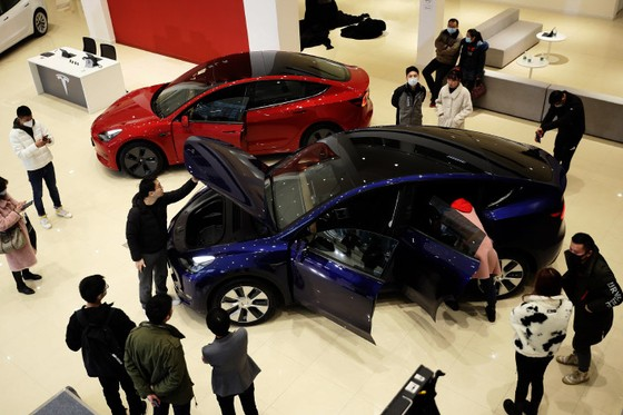 In Depth: Tesla Powers On as Rival Electric-Vehicle Makers Scramble to Compete in China