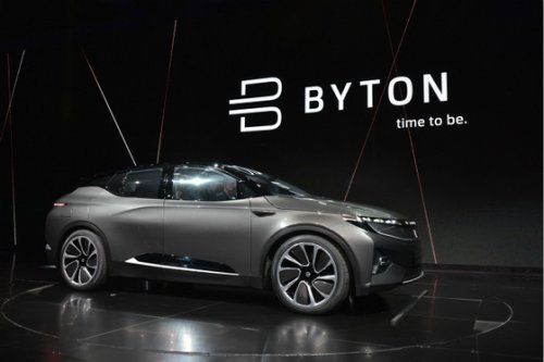 Stalled Electric Vehicle Startup Byton Expects $292 Million Rescue