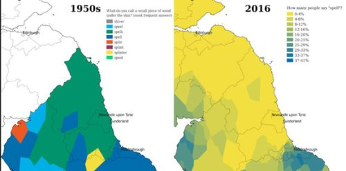 Cambridge app maps decline in regional diversity of English dialects