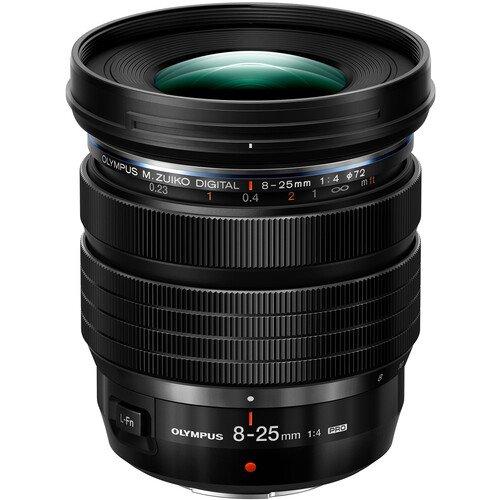 Olympus M.Zuiko Digital ED 8-25mm f/4 PRO Lens Officially Announced