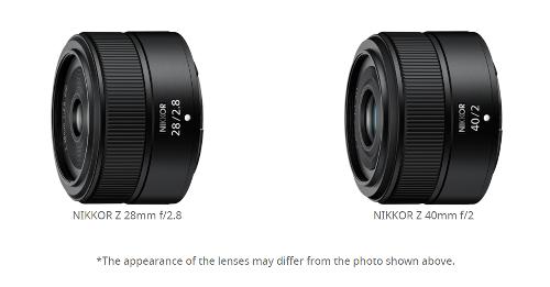Nikon NIKKOR Z 28mm f/2.8 & Z 40mm f/2 Lenses to be Announced on June 28th?