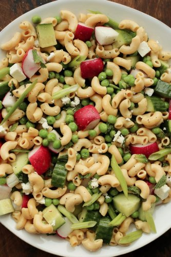 These Healthy Pasta Salad Recipes Double as A Crowd-Pleasing Side Dish and Tomorrow's On-the-Go Lunch
