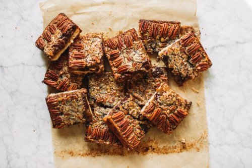 One Bite of These Chocolate Bourbon Pecan Pie Bars and You'll Be Hooked!