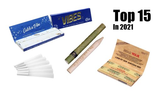 15 Best Rolling Papers and Weed Cones | Cannabis Now