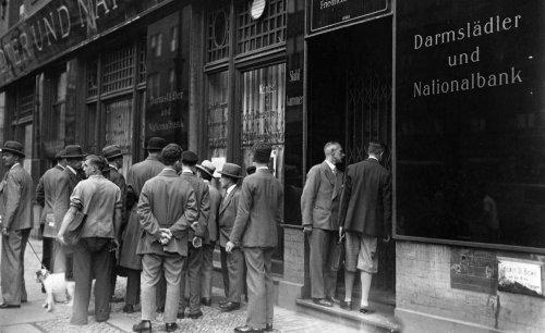 Wie 1931 der Bankencrash den Aufstieg der Nazis beförderte