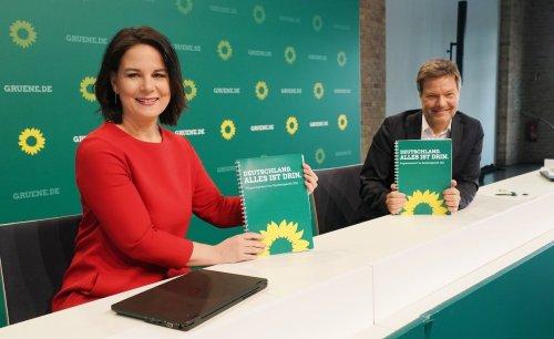 Die Release-Party der Grünen